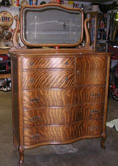 1000 images about Antique serpentine front dressers on