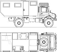 Expedition-truck-and-mobile-home-4x4-6x6-MAN-TGM-KAT
