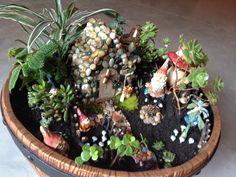 Gnome Garden Designer Kristin Middleton Colonial Nursery's