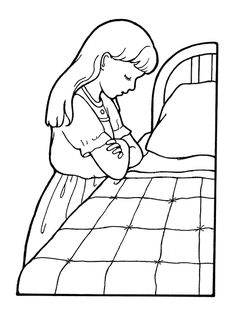 A line drawing of a woman and a little girl working in the