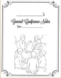 1000+ images about Free General Conference Printables on