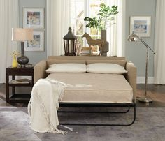 berwick mid century sleeper sofa midnight blue leather 1000+ ideas about beds on pinterest | futon ...