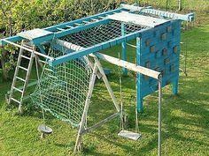 Spielturm Aus Holz Mit Rutsche Schaukel Sandkasten Kletterturm