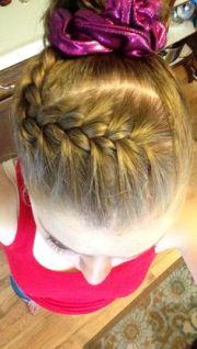 1000 ideas gymnastics hairstyles