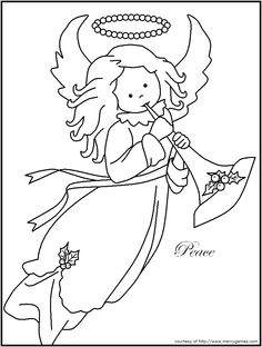 1000+ images about Christmas :: coloring pages 1 on