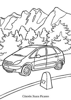 Hot Wheels color page cartoon characters coloring pages