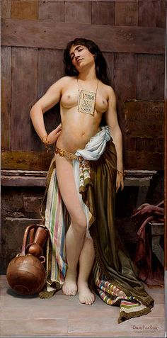fantasy art slave trader