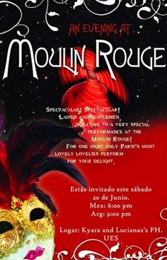 1000 images about Moulin Rouge Party Ideas on Pinterest  Moulin rouge Theme parties and