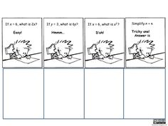 Algebraic Reasoning – Pan Balance Problems
