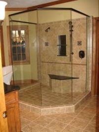 shower bench tile images