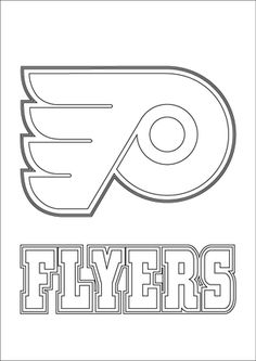 Pittsburgh Penguins hockey coloring page. All the NHL