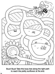 frog to pond simple maze: inkspired musings: Spring