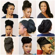 10 Tutorials For Natural Hair Updos That Are Perfect For Prom