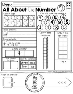 Use this sheet to help students discover how many letters
