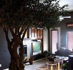 artificial trees for living room window treatments sliding glass doors in marset pleatbox lamp photography pinterest fake tree inside