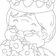 Grandmother : Coloring pages, Reading and Learning