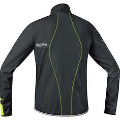 mens x run ultra windstopper soft shell light jacket gore running wear