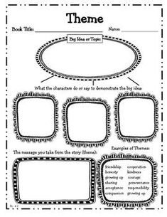 Common Core: Graphic Organizers for Reading Literature