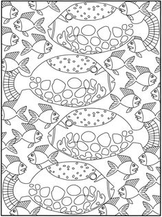 blowfish Fish color page, animal coloring pages, color