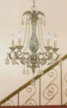 French Provincial Fl Painted Chandelier Style In Sydney Australia