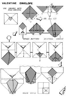 1000+ images about Letter & Envelope folding on Pinterest