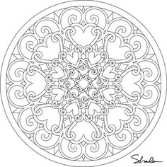 1000+ images about colouring Mandalas etc for adults on