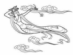 Chang-o, Chang-e, Lady of the Moon. Legends about Mid