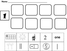 1000+ images about Kindergarten math on Pinterest