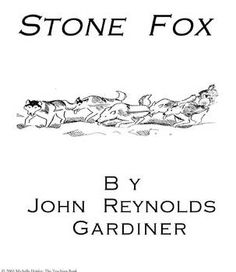 Stone Fox Teaching Novel Unit