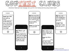 1000+ ideas about Context Clues Activity on Pinterest