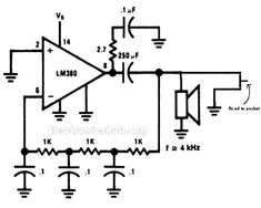 Security alarm, Circuit diagram and In the bus on Pinterest
