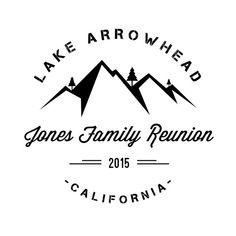 Family Reunion T-Shirt Mountain Design Digital File by