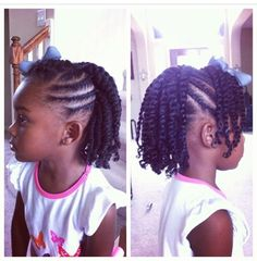 4 EASY Back To School Natural Hairstyles For KIDS YouTube