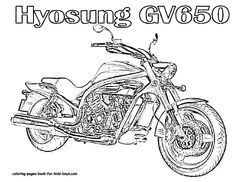 Road king, Harley davidson and Coloring pages on Pinterest