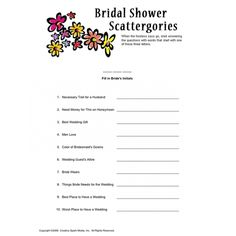 Bridal Shower Charades...we could do this naughty or nice
