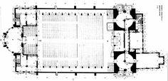 Plano: Planta de Conjunto Capilla de Palmira Felix Candela