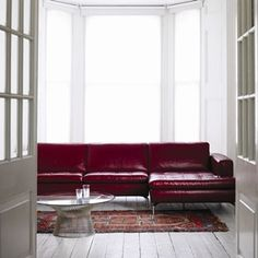 Red Sofa Natuzzi Savoy