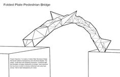A Simple Arch bridge Free Building Paper Model Download