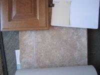 Daltite Sierra Tile, Oat Straw Carpet, Chestnut Recessed ...