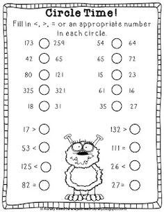1000+ images about Math..Odd and Even, Greater and Less