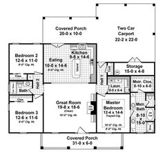 Beautiful, House plans and Design on Pinterest