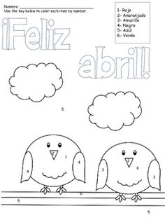 Earth day, Spanish activities and Spanish on Pinterest