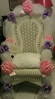 1000 images about Baby shower chair on Pinterest  Baby