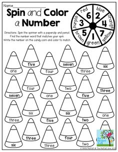 Number words, Writing numbers and 1st grade math on Pinterest
