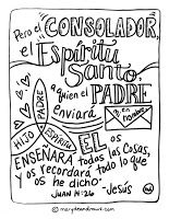 FREE Bible Verse Coloring Pages- English and Spanish