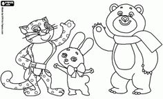 sochi mascot coloring pages, polar bear, link to other