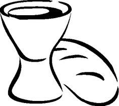 Catholic Coloring Page: The Eucharist