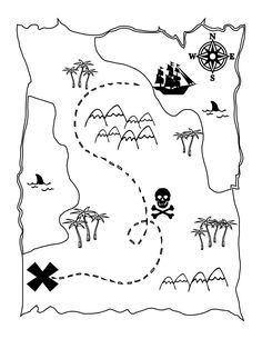 Animal tracks, Track and Coloring pages on Pinterest