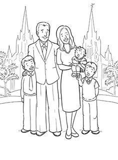 1000+ images about LDS Coloring Pages on Pinterest