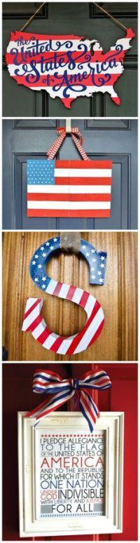 Americana Patriotic Metal Stars Painted, Galvanized, Heavy ...
